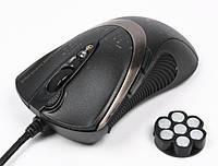 Мышь A4 Tech F4 black, USB V-TRACK 3000dpi, 160КБ, Black, мышка