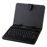 Чехол с клавиатурой для планшета 8 дюймов Black (micro Usb), фото 6