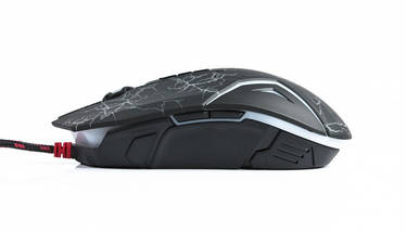 Игровая мышка A4Tech Bloody N50 black, USB, с подсветкой геймерская мышь а4теч блади блуди для компьютера, пк, ноутбука, фото 3