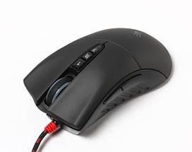 Игровая мышка A4Tech V3 M Bloody black, USB геймерская мышь а4теч блади блуди для компьютера, пк, ноутбука, фото 2