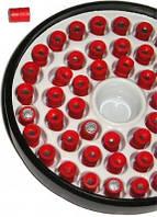 Пули разрывные Блик 4,5 мм 0,25 грамма (50 шт.) красные