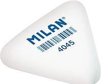 Ластик Milan 4045 треугольная белый
