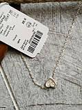 Подвеска Сердце на серебряной цепочке 40 см, фото 3