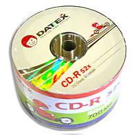 Диск CD-R 50 шт. Datex, 700Mb, 52x, Bulk Box