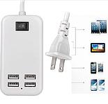 Адаптер на 4 USB зарядное устройство на 4 usb порта , фото 2