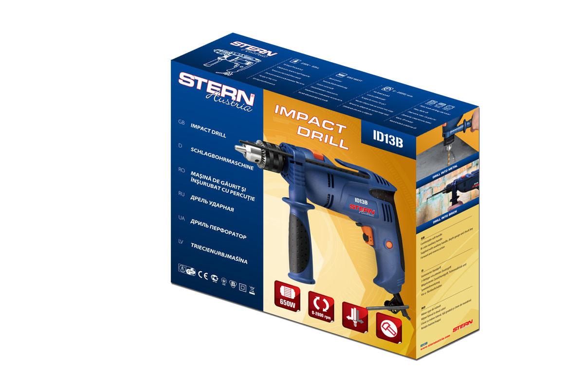 Дрель ударная Stern ID-13 В