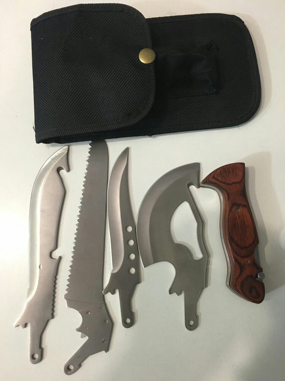 Ножі для полювання, риболовлі і туризму(зі змінними лезами)
