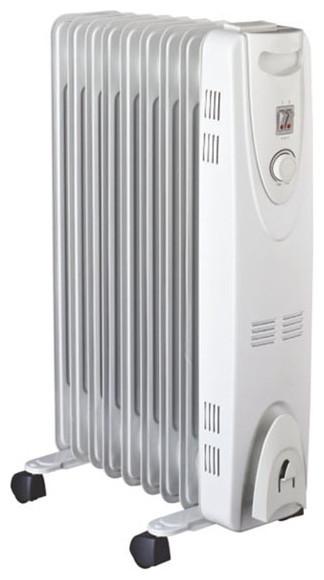 Масляний радіатор VES Electric RG12HO 2500 Вт