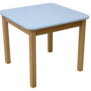 Столик дитячий дерево/плівка МДФ блакитний Верес