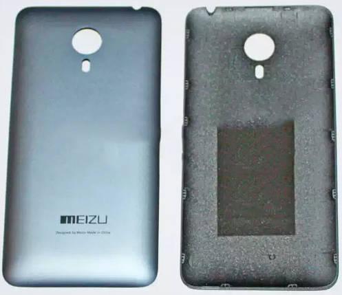 Задняя крышка Meizu MX4 grey, сменная панель, фото 2