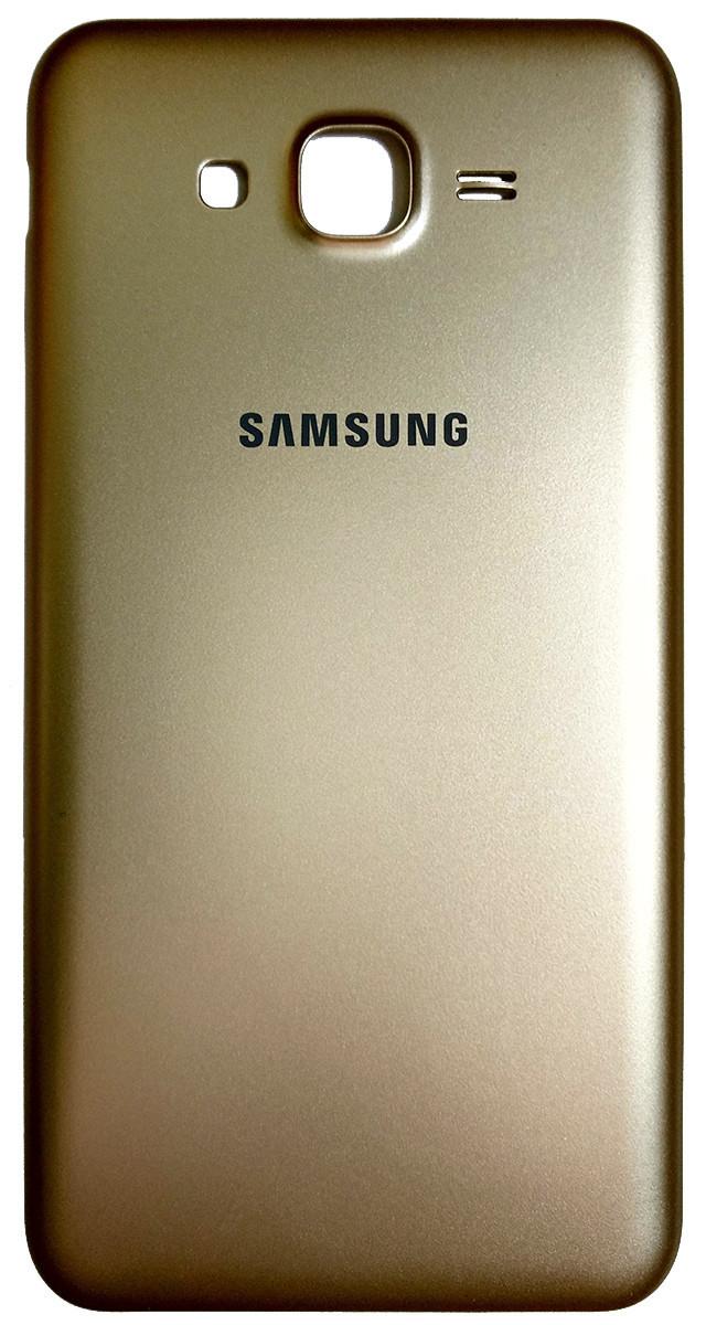 Задняя крышка Samsung Galaxy J7 (J700H, 2015) gold, сменная панель самсунг