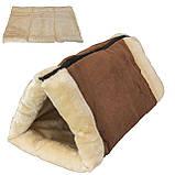 Домик-лежанка для собак и кошек Kitty Shack 2 in 1 tunnel bed & mat, домик для животных, фото 5