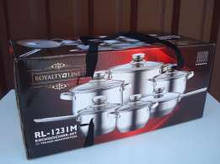Набор посуды Royalty Line RL 12 предметов