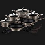 Набір посуду Berlinger Haus Carbon Metallic Line 15 предметів, фото 2