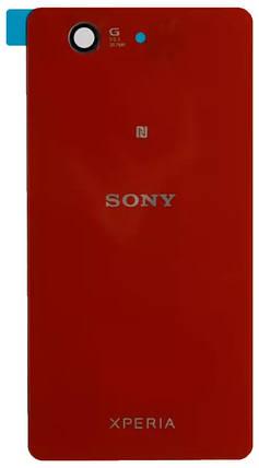Задняя крышка Sony Xperia Z3 Compact Mini (D5803) red, сменная панель сони иксперия, фото 2