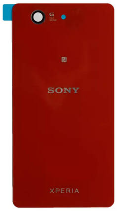 Задняя крышка Sony Xperia Z3 Compact Mini (D5803) red, сменная панель, фото 2
