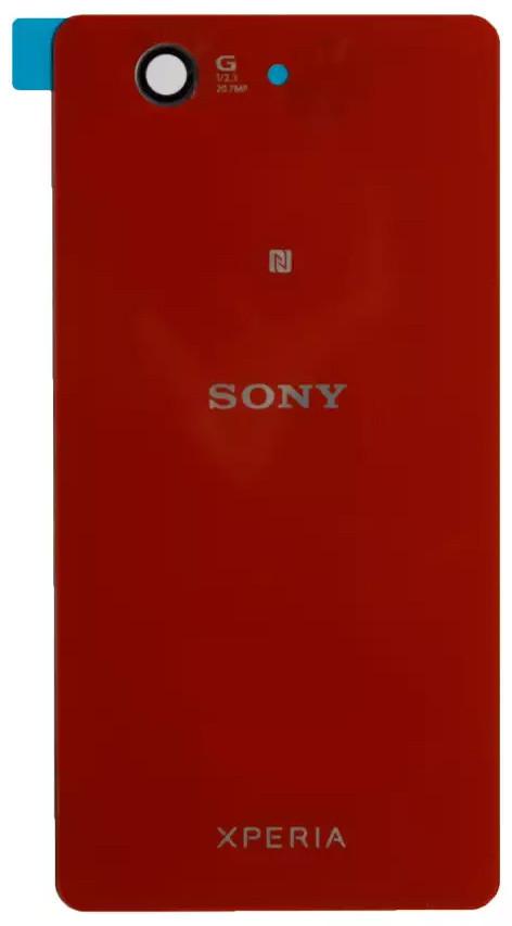 Задняя крышка Sony Xperia Z3 Compact Mini (D5803) red, сменная панель сони иксперия