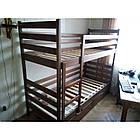 Ліжко двоярусне в дитячу з натурального дерева Шрек Дрімка, фото 7