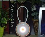 Переносна світлодіодна компактна настільна лампа, фото 2