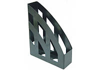 """Лоток для бумаг """"Economix"""" вертикальный пластик черный E31900-01"""