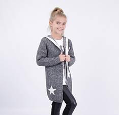 Детский кардиган для девочки от Bear Richi 286122, 140-164