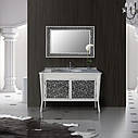 Зеркало Атолл (Ольвия) Валенсия 130 патина чёрная, фото 3