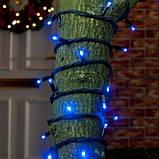 Вулична гірлянда нитка на чорному проводі 580 LED 35 м, фото 2