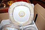 Сервиз столовый Prima Collezione Karro Gold 57 предметов, фото 3