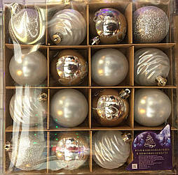 Набор новогодних елочных  шаров