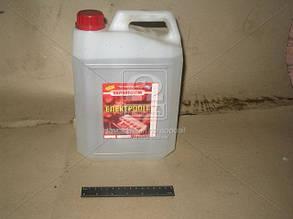 Электролит для аккумулятора пластиковаякан. 5 л. (производитель Украина) Э 1,26-1,27-5л