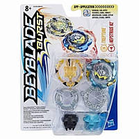 Волчки БейБлэйд Beyblade Burst Dual Pack Wyvron W2 and Odax O2 B9491