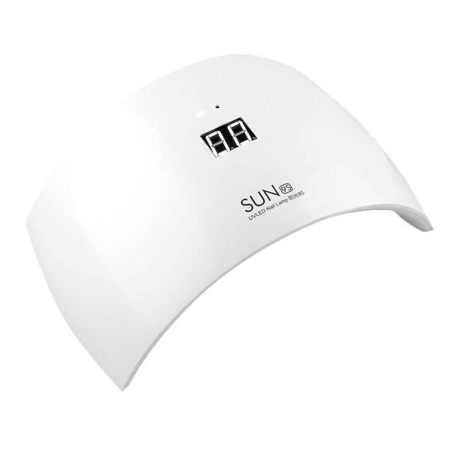 Ультрафиолетовая лампа для ногтей с дисплеем LED Sun 9S  24Вт