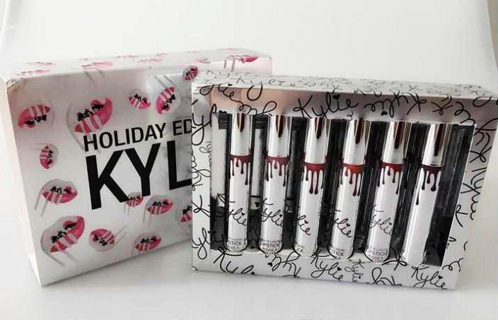 Подарочный набор помад Kylie Holiday Edition