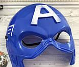 Маска карнавальная  Супергерой Злодей Халк Капитан Америка Вендетта Хеллбой Бетмен, фото 7