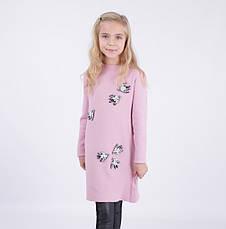 Детское платье для девочки 65% шерсти от Bear Richi 286149, 140-164, фото 2