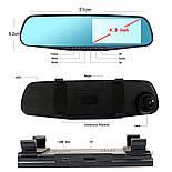 Видеорегистратор зеркало заднего вида Vehicle Blackbox DVR L9000, фото 3