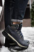 Кроссовки на меху мужские Арриго Аутдор синие топ реплика, фото 3
