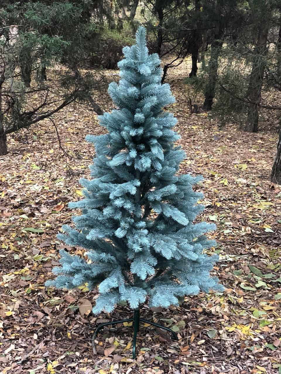 Искусственная Ель литая голубая 2.1м