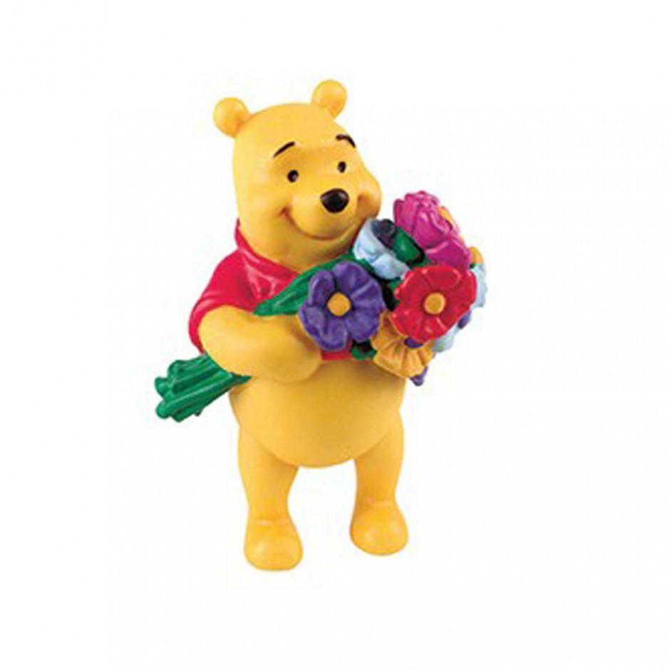Фігурка Вінні Пух з квітами BULLYLAND