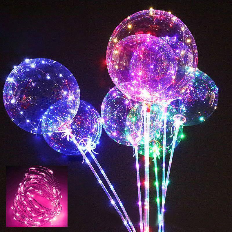 Светящиеся шары bobo led