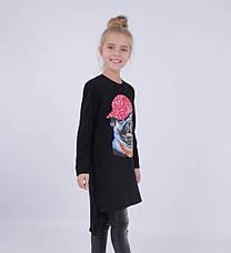 Детское платье для девочки 65% шерсти от Bear Richi 768012, 140-164, фото 3