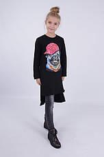 Детское платье для девочки 65% шерсти от Bear Richi 768012, 140-164, фото 2