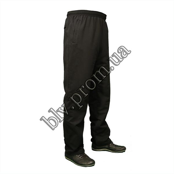 Трикотажные батальные мужские брюки классика AZ0G