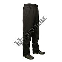 Трикотажные батальные мужские брюки классика AZ0G, фото 1
