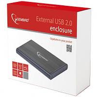 """Карман внешний 2,5"""" Gembird EE2-U2S-5 Black SATA USB2.0"""
