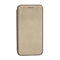 Чехол-книжка G-Case Samsung J3 /J310 кожа gold orig