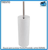 Ёршик для унитаза Trento Piramide, white (50565) 11, фото 1