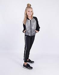 Детский спортивный костюм для девочки от Bear Richi 782554 на рост  116-140