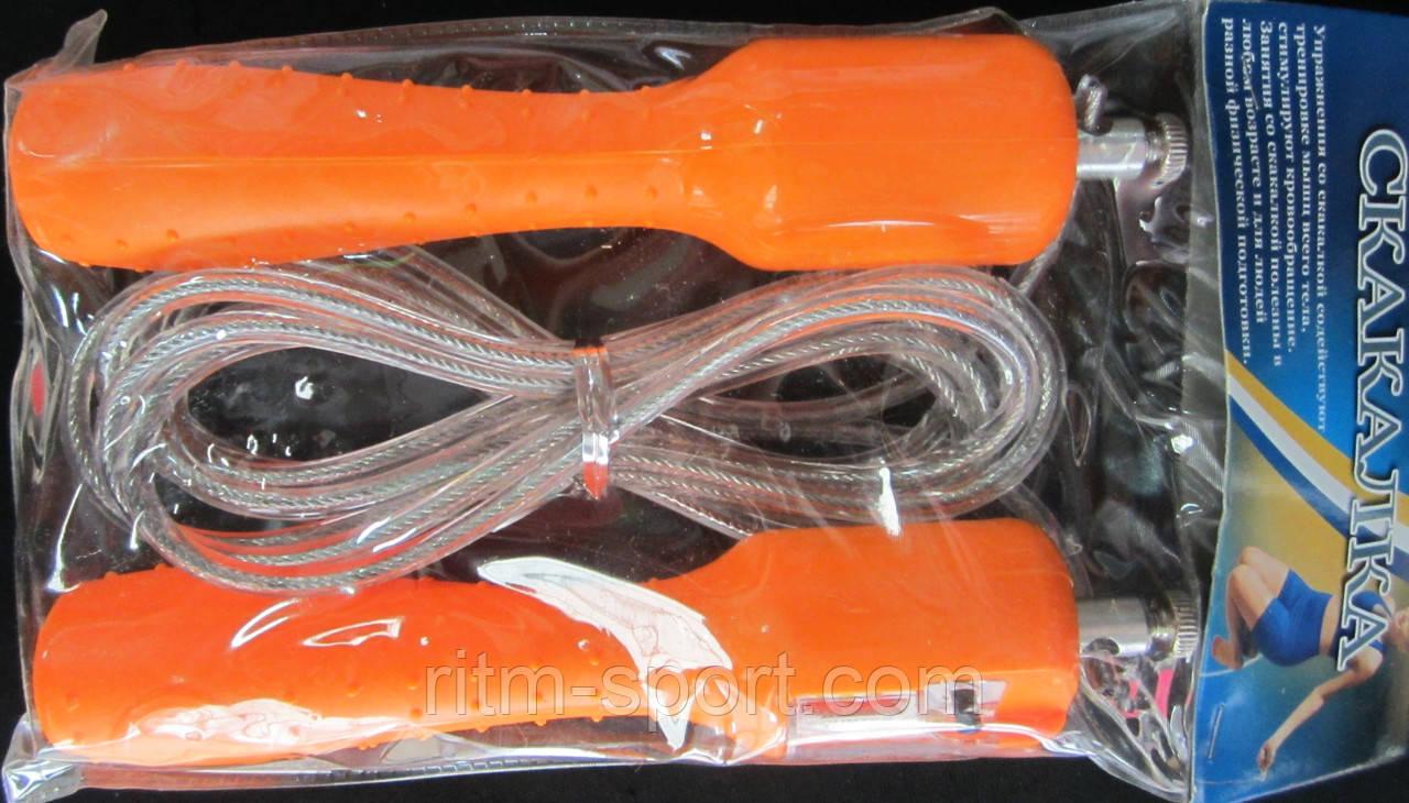 Скоростная скакалка со счетчиком для кроссфита