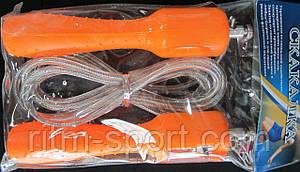Скоростная скакалка со счетчиком для кроссфита , фото 2